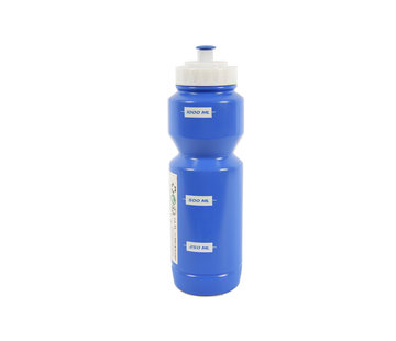 Discountershop Bidon Waterbottle 1 liter light blue