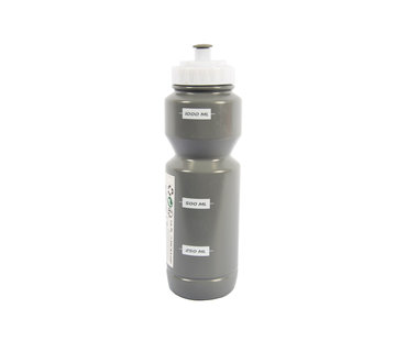 Discountershop Bottle 1 liter grey