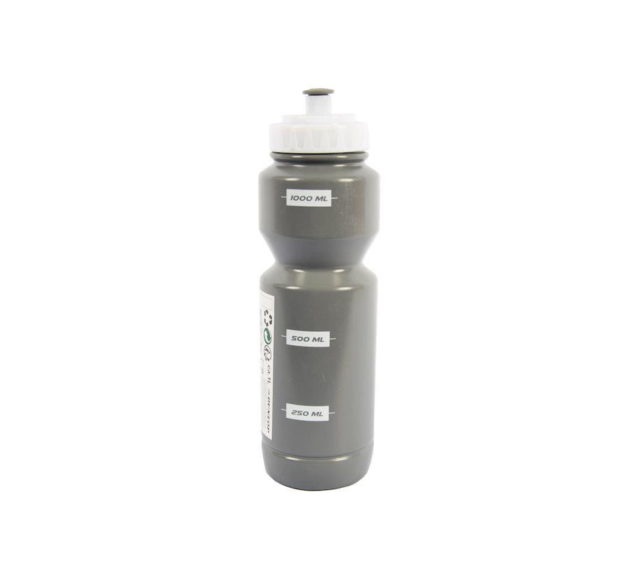 Bidon 1 liter grijs - Bidon - 1 Liter