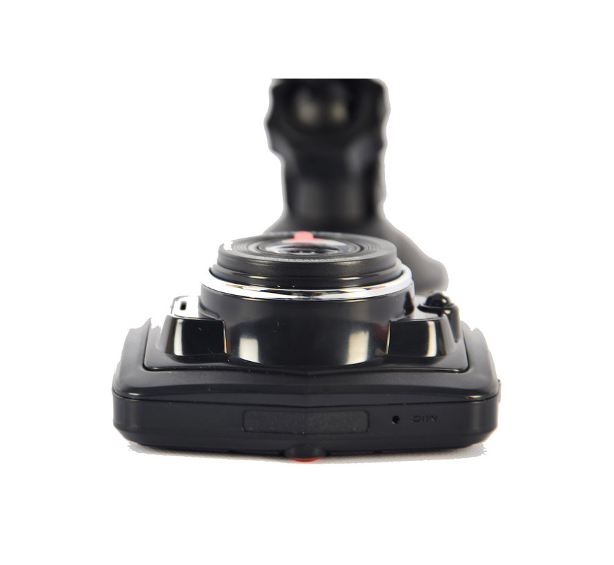 Easy Dashcam full HD - including charger - Including holder - Dashboard camera with night vision