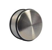 Merkloos 2 Stuks Deurstopper Deurklem - Binnen - Zwart - Deurvastzetter - Deurklemmer 11cm x 11cm x 6cm