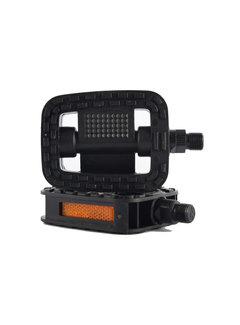 Discountershop 2x Techno Anti-Slip Pedalen   Fiets Pedal   Set   Fietspedalen   Pedaal