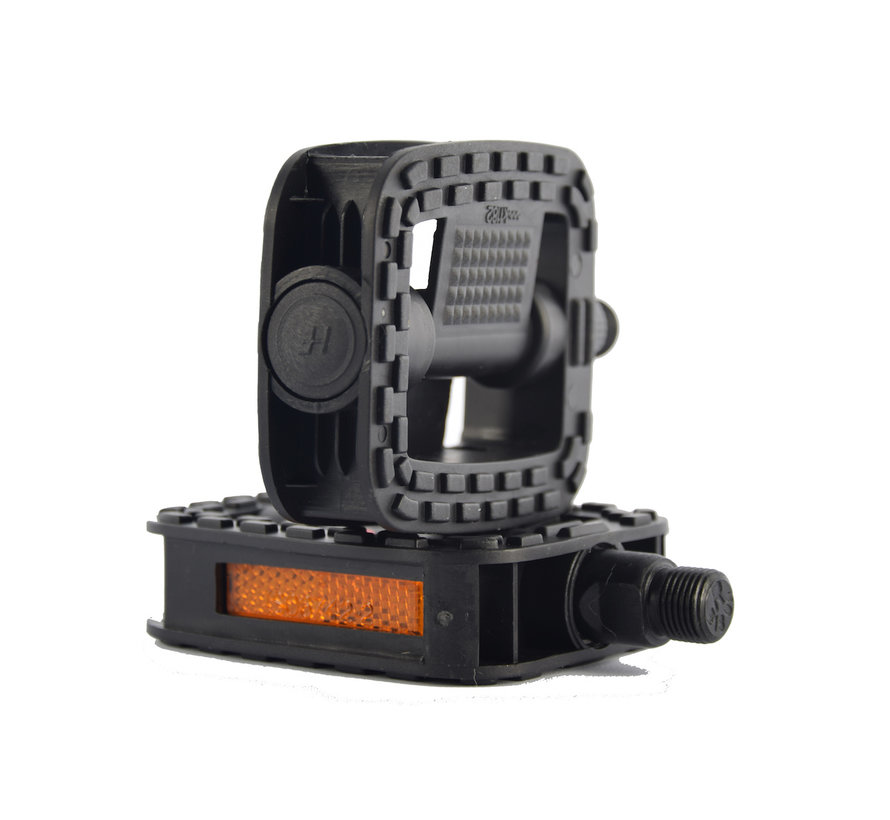 2x Techno Anti-Slip Pedals | Bicycle Pedal | Set | Bicycle pedals | Pedal