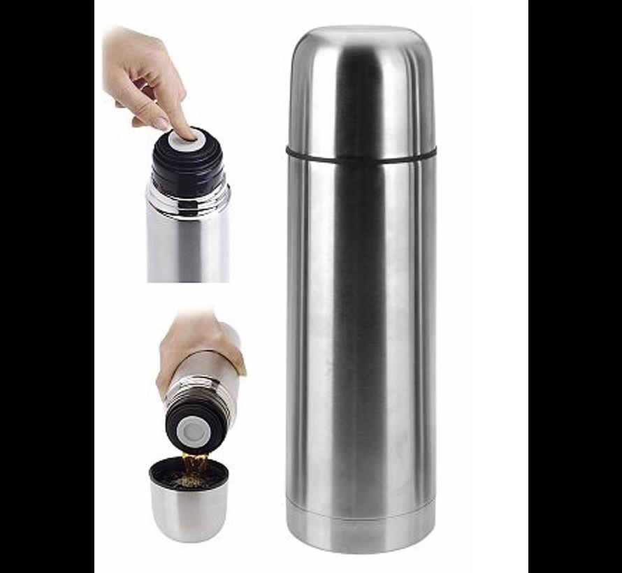 Isolatiekan - 750 ml - RVS - kan - warmwater - koffiewarm