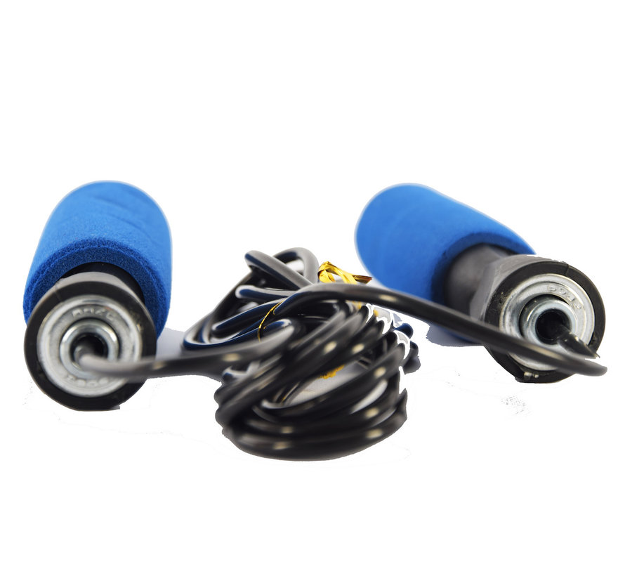Skipping rope blue