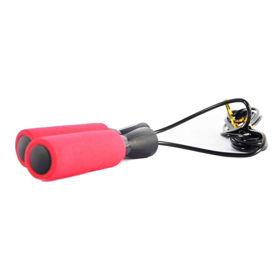 Discountershop Skipping rope red