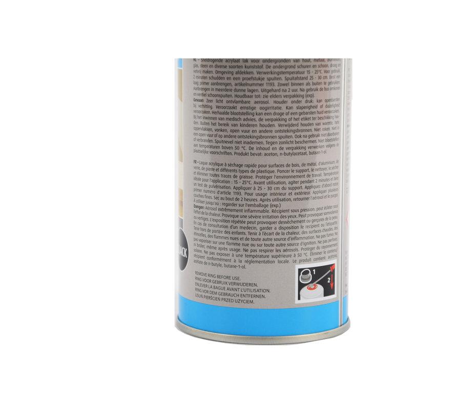 spray paint Matt black fast drying