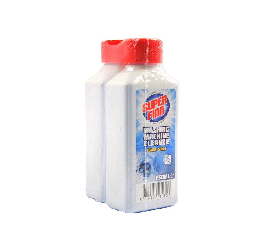 Wasmachinereiniger 2-pack - wasmachine schoonmaakmiddel - vuil - kalk - ontvet - schoonmaak - frisse geur