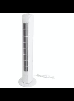 Discountershop Fan - tower fan - tower fan fan column white