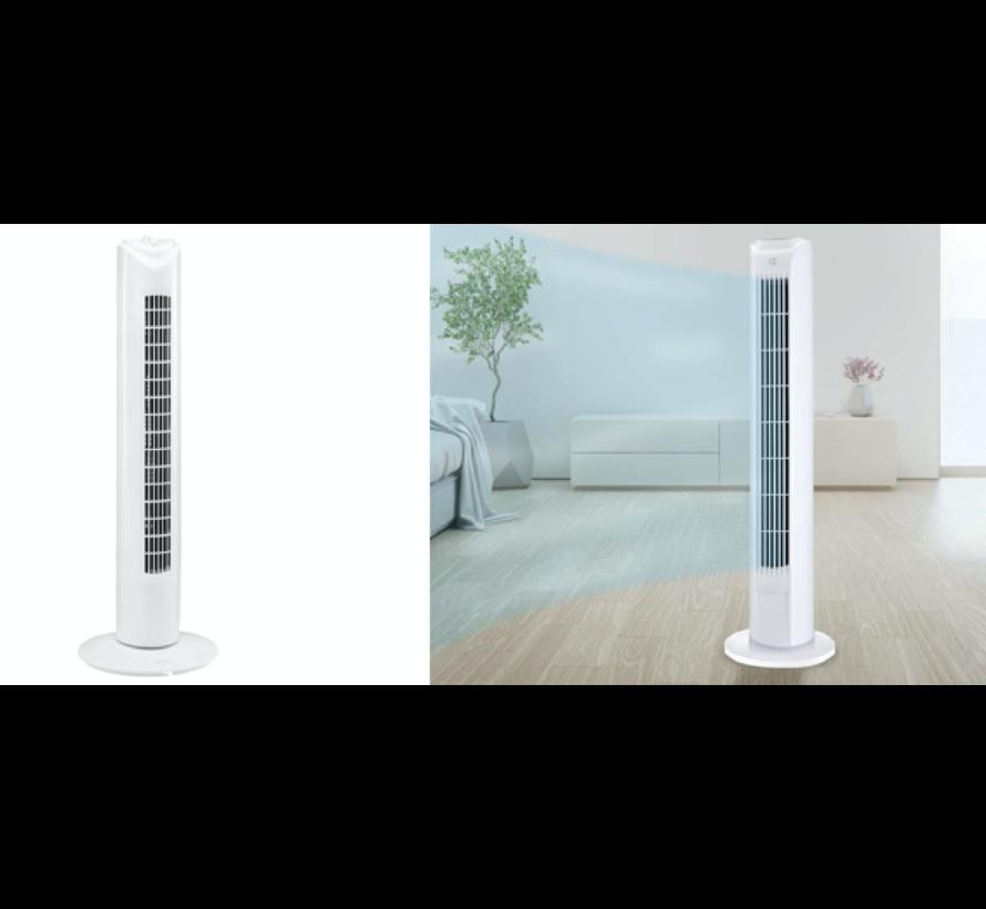 Ventilator - torenventilator - torenventilator ventilator zuil wit