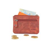 4East 4East Buffalo leather key case Red