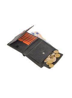 4East Billfold wallet 4east buffalo leather black