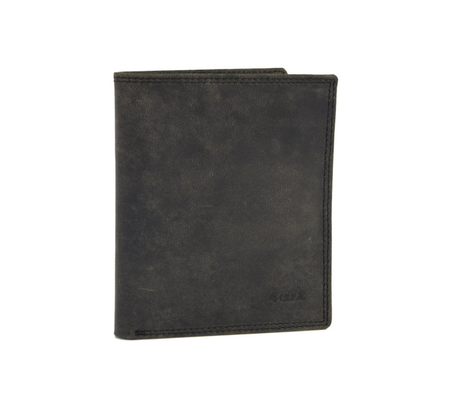 Wallet with lots of card space - 14 cards - Men's wallet - double stitched wallet - Buffalo leather wallet - Buffalo leather - billfold wallet - RFID