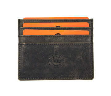 4East Card case - credit card holder with money - card holder with bills - card holder - credit card - 6 card holder