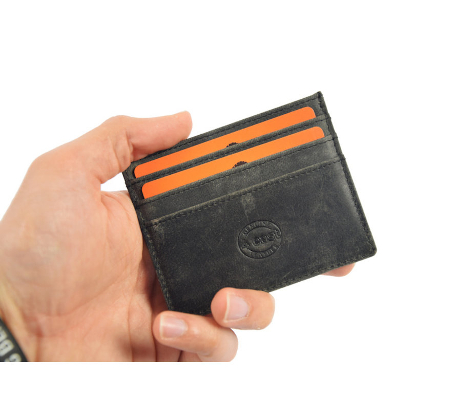 Card case - credit card holder with money - card holder with bills - card holder - credit card - 6 card holder