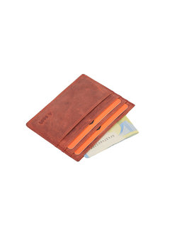 4East Card holder Buffalo leather red 4East