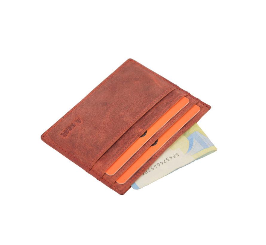 Card case - creditcard houder met geld - pasjeshouder met briefgeld - pasjeshouder - creditcard - 6 pasjes houder