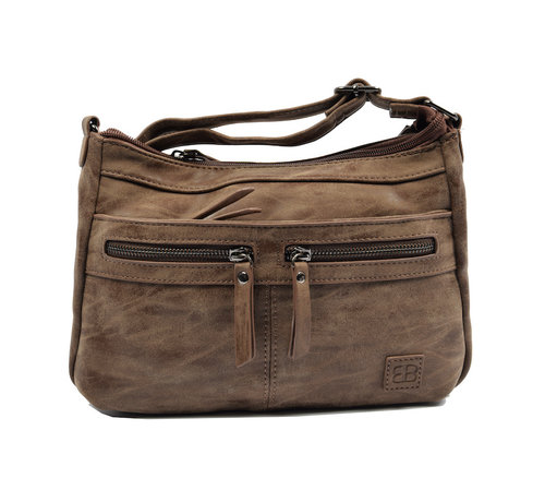 Bicky Bernard Bicky Bernard shoulder bag - ideal bags from Bicky Bernard WDL029 dark brown