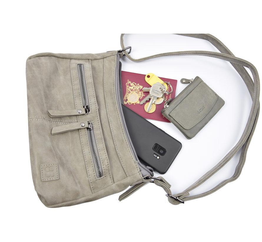 Bicky Bernard shoulder bag - ideal bags from Bicky Bernard WDL029 grey