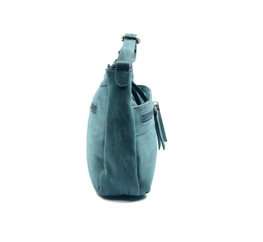 Bicky Bernard schoudertas - ideaal tassen van Bicky Bernard WDL029 navy