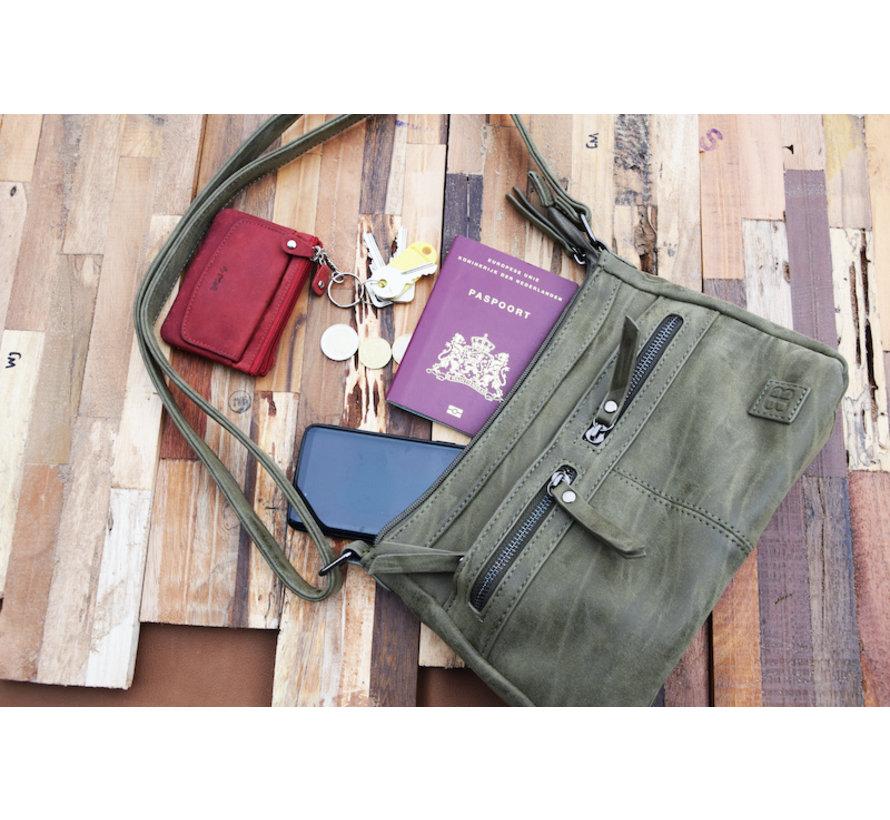 Bicky Bernard shoulder bag - ideal bags from Bicky Bernard WDL029 olive