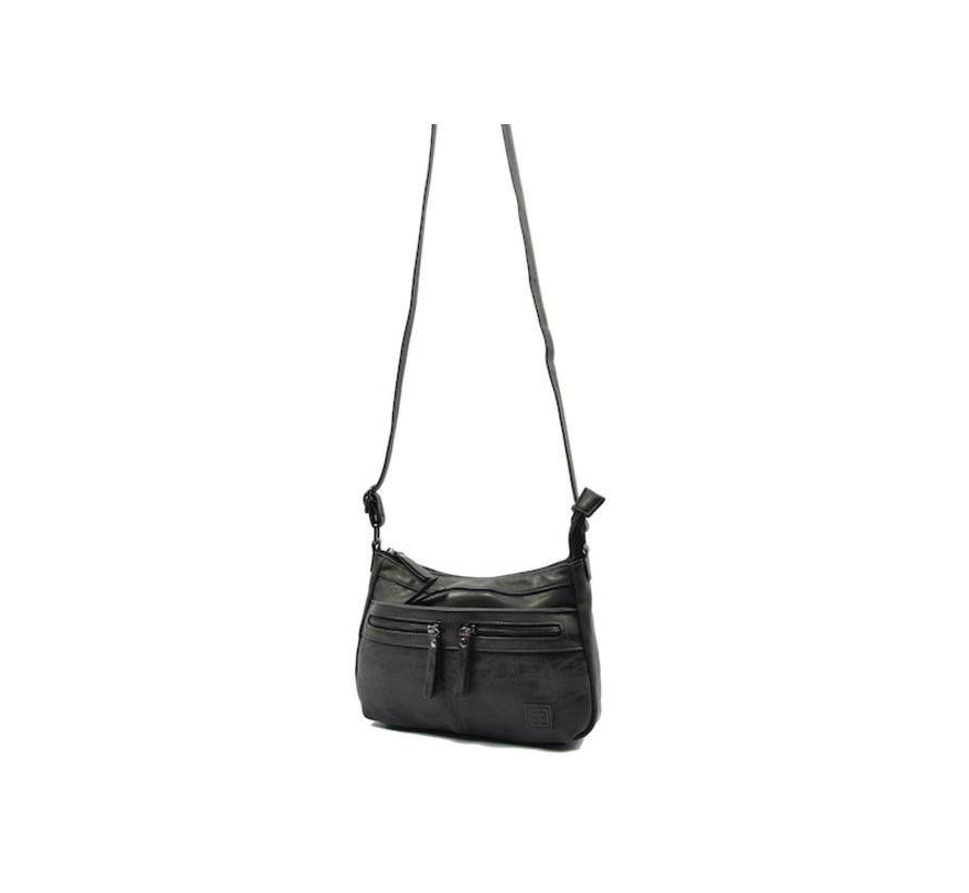 Bicky Bernard schoudertas - ideaal tassen van Bicky Bernard WDL029 zwart