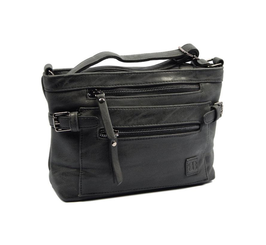 Tough -Shoulder bag - bicky bernard black