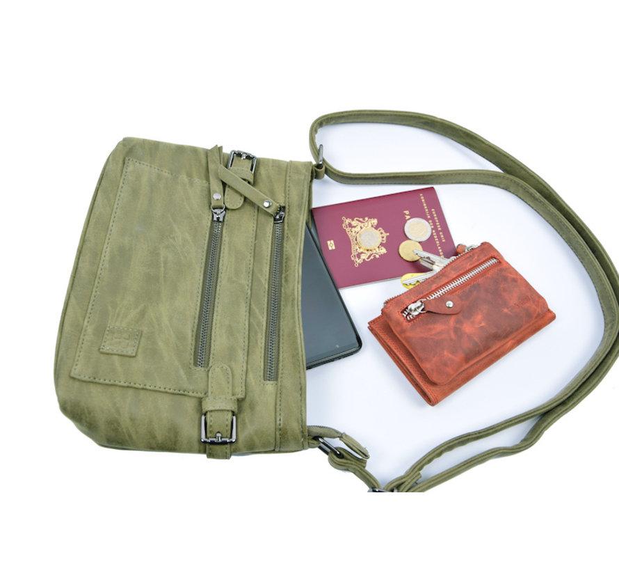 Tough shoulder bag - bicky bernard - Olive