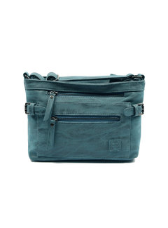Tough shoulder bag - bicky bernard - dark blue Stoere -Schoudertas - bicky Bernard - donkerblauw