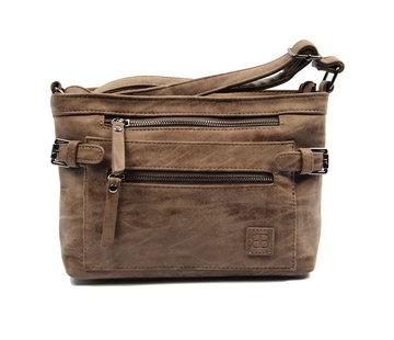 Bicky Bernard Tough shoulder bag - bicky bernard - Dark brown