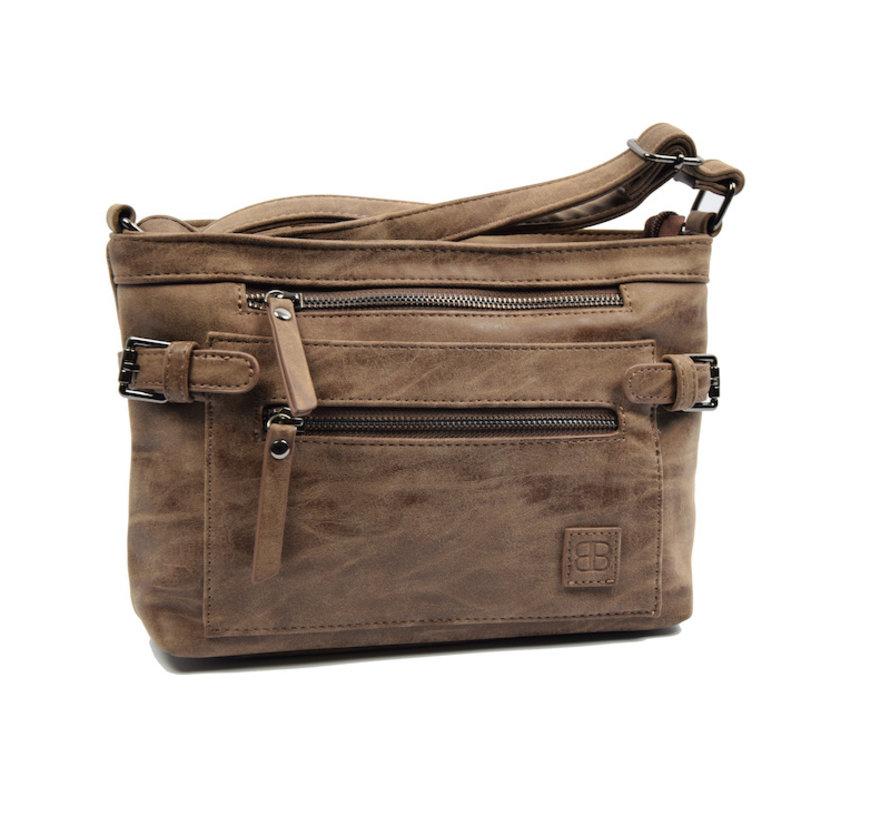 Tough shoulder bag - bicky bernard - Dark brown