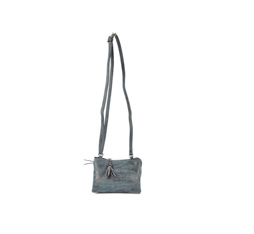 Bag - bags - bags - Bag- Bicky Bernard- Harmonica 3-Pouch bag - shoulder bag - crossbody bag - dark blue