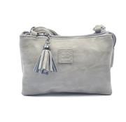Bicky Bernard Bag - bags - bags - Bag- Bicky Bernard- Harmonica 3-Pouch bag - shoulder bag - crossbody bag - Grey
