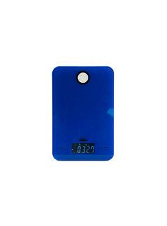 Discountershop Digital kitchen scale 5 KG with kitchen timer \ Blue