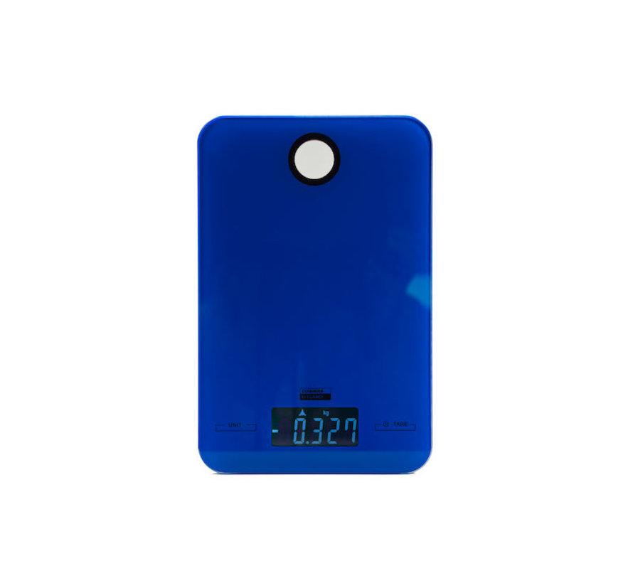 Digital kitchen scale 5 KG with kitchen timer \ Blue