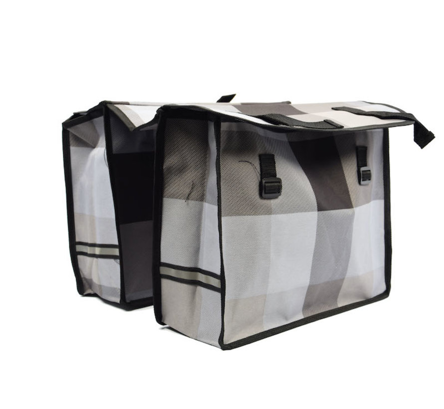Double Pannier waterproof with reflective stripes for extra safety - Pannier multi