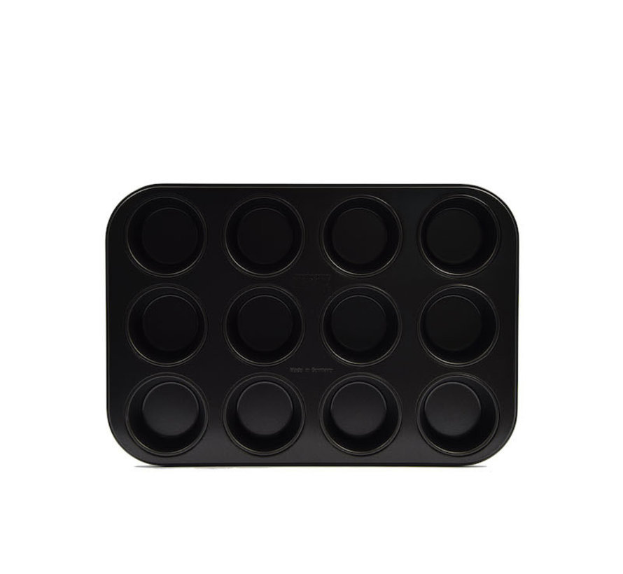 muffin tins 12 cups with non-stick coating \ small size