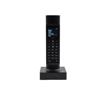 Discountershop Philips M7701B23 - Single DECT telephone - Caller ID - Black \ Small size