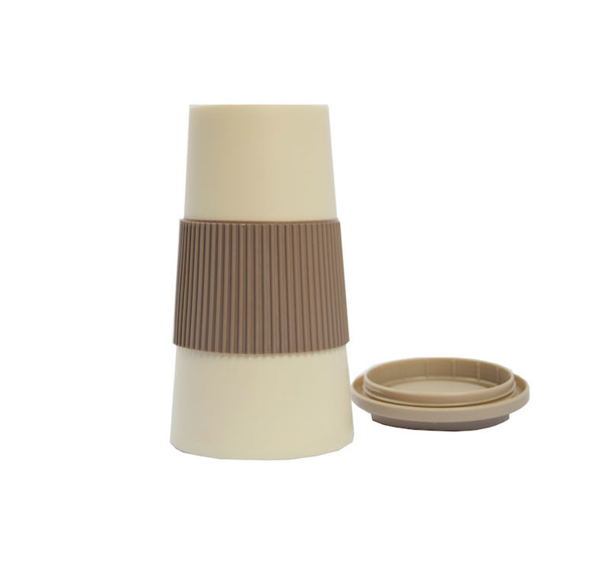 travel cup, coffee cup, coffee to go cup, CRUISING TRAVEL MUG - To-Go cup \ Beige