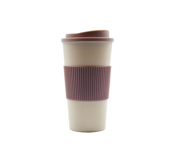 Discountershop reisbeker, koffiebeker, coffe to go beker, CRUISING TRAVEL MUG - To-Go beker\Pink\kleine formaat