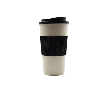 Discountershop travel cup, coffee cup, coffee to go cup, CRUISING TRAVEL MUG - To-Go cup \ black