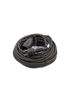Discountershop Extension cord 20 meter \ small size