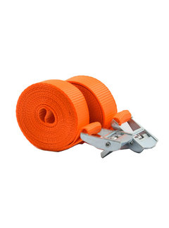 Discountershop Tensioning belts with a length of 3.5 Meter 2 pieces in package \ Small size