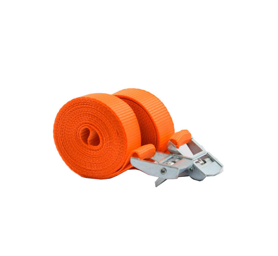Tensioning belts with a length of 3.5 Meter 2 pieces in package \ Small size