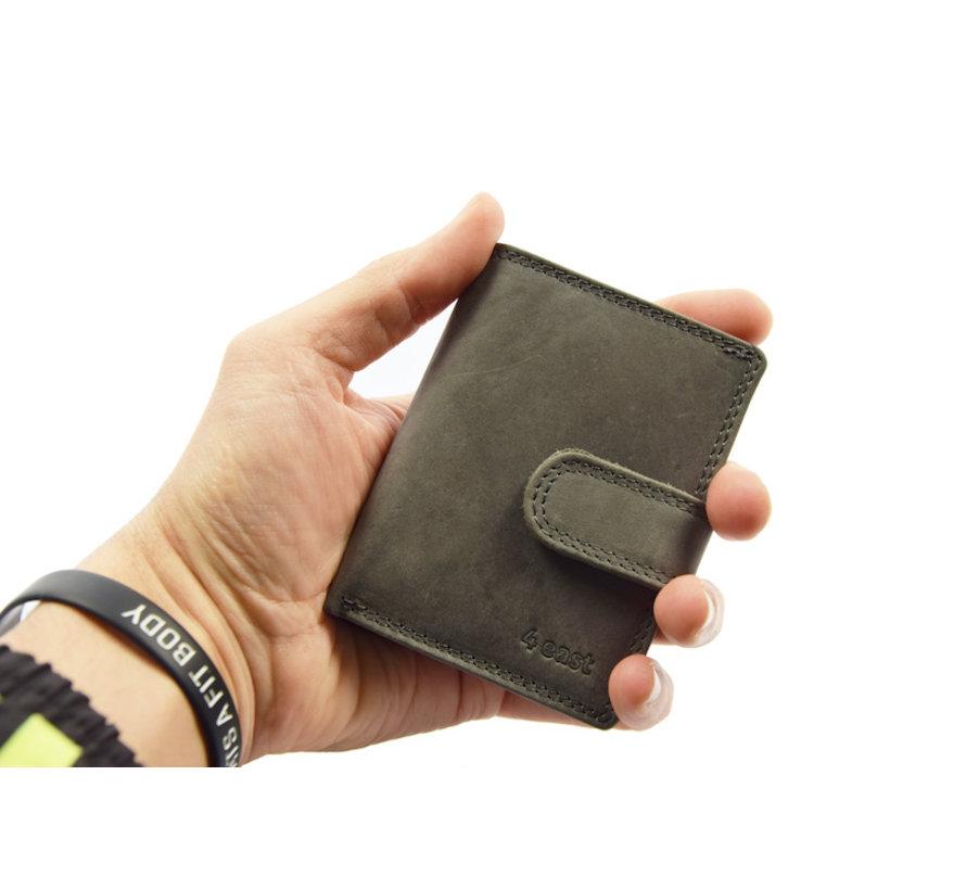 Pasjeshouder - creditcardhouder - RFID- 4East Pasjeshouder - Creditcardhouder Grijs