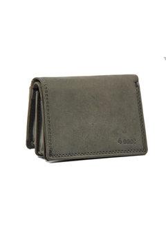 4East Kleine portemonnee van buffelleer, kleine geld- vakantie portemonnee