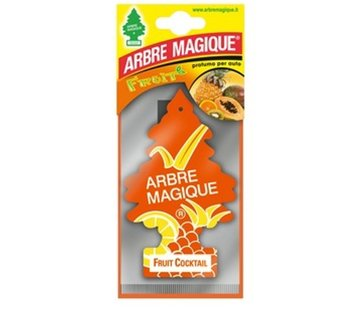 Arbre Magique 2x Arbre Magique luchtverfrisser Fruit Cocktail