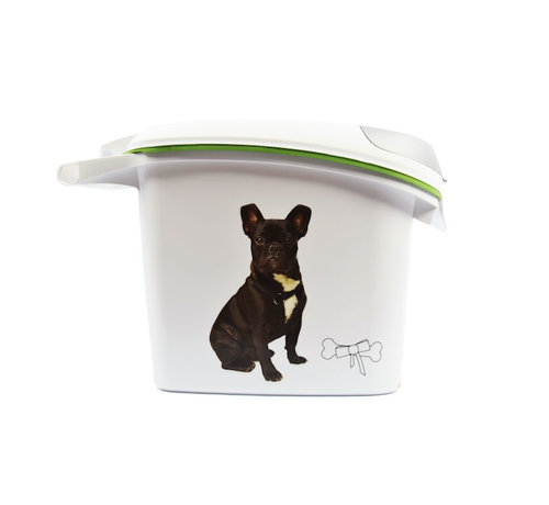 Discountershop Dog food container 6kg / 15Ltr - Food container 6kg / 15Ltr