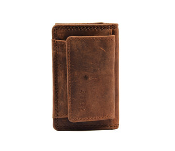 4East Wallet - holiday wallet - Compact wallet - Buffalo leather wallet - Small wallet - Wallet - mini wallet -