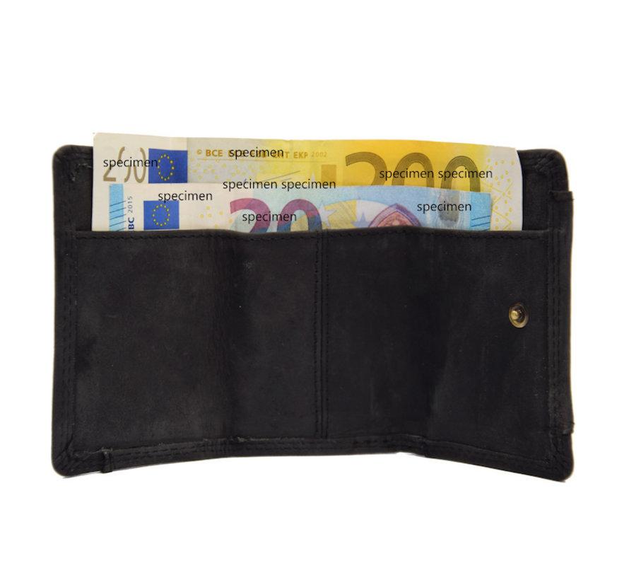 Wallet - holiday wallet - Compact wallet - Buffalo leather wallet - Small wallet - Wallet - mini wallet -